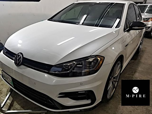 M-pire Premium Nano Ceramic Coating on this VW-R. We protected the entire body, trim, headlights, tail lights, rims and windshield. Book today at info@m-pire.ca #m-pire.ca #autodetailing #winnipeg #manitoba #cars #imports #shine #detailing #winnipegcars #devilsinthedetails #nanoceramiccoating #ceramiccoat #paintprotection #ceramiccoating #vw #vwgti #golf #typer #turbo #boost #spoolup #stjamesvolkswagen