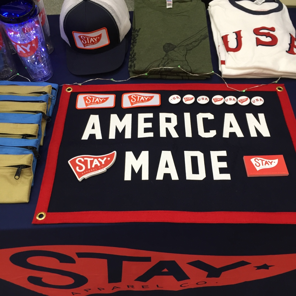 Everything Stay sells is made in America, from Big Run, Pa., to Buffalo, from Lewiston, Maine to Milwaukee.