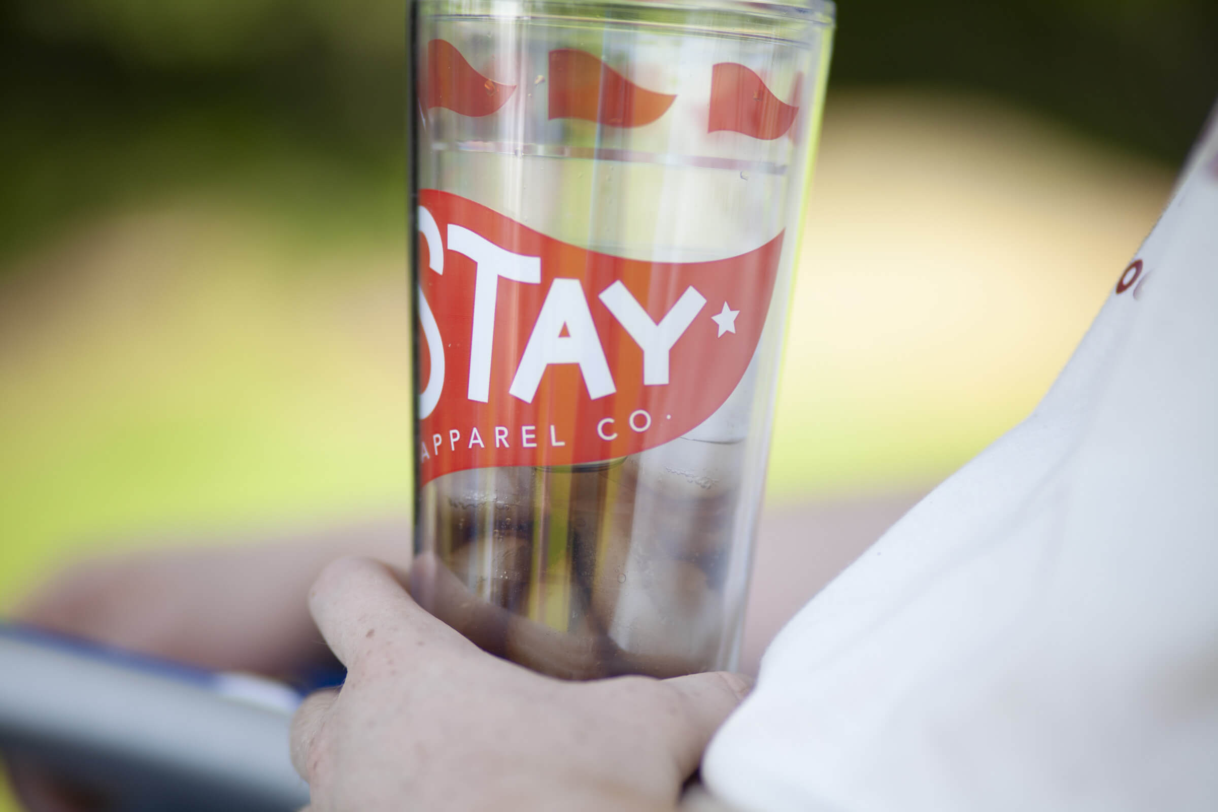 All of our products are made in the USA, such as this Indiana-made insulated tumbler.