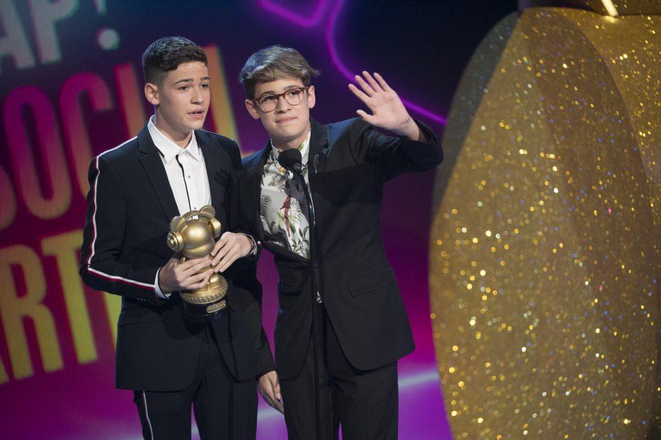 "Winner: 2018 Radio Disney Music Awards - ""Favorite Social Artist"""