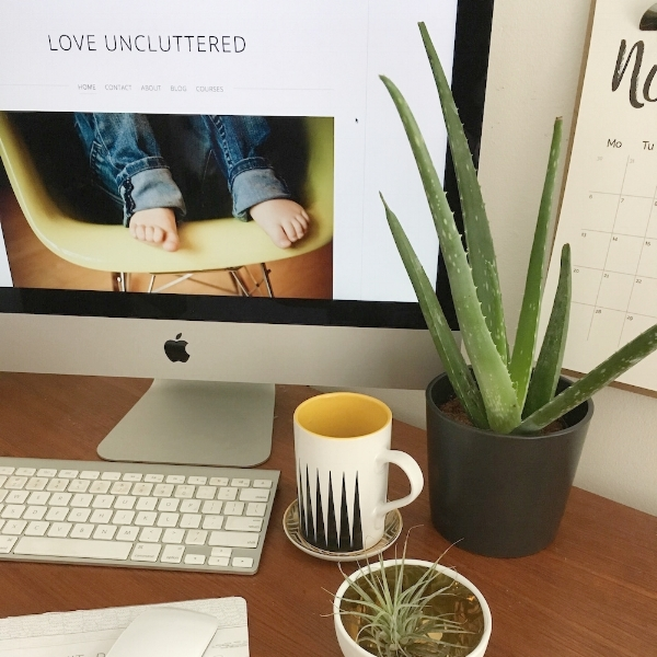 loveuncluttered.com The Birth of LOVE UNCLUTTERED