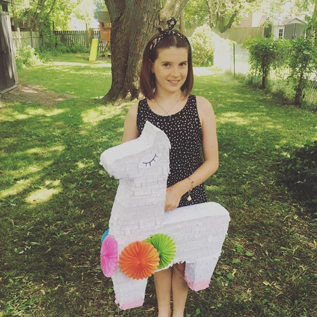 My girl turned 10 this past week! Double digits! This special milestone was marked the way we celebrate all family birthdays - with a few favourite  traditions and rituals (more on that in an upcoming post), one of which is piñata making! ⠀ ⠀ If you've been following me for a while, you may already know that I love to connect with my kids through cooking and crafting and this is definitely one of our favourite crafting traditions! ⠀ ⠀ For each of the kids birthdays we create a piñata together and fill it with simply treat bags containing 4 or 5 small items (this year's treat bags featured organic gummies, temporary tattoos, friendship bracelet kits, and bubbles). I get A LOT of interest into how we make our birthday piñatas, so this year, I tried to photograph more of the process (check out the series of photos). ⠀ ⠀ We are always super proud of the finished piñata but honestly, the best part by far is the process of making it together! The kids and I look so forward to this annual tradition and they always refer to it as a favourite part of their birthdays! ⠀ ⠀ What are YOUR favourite family birthday traditions and rituals?