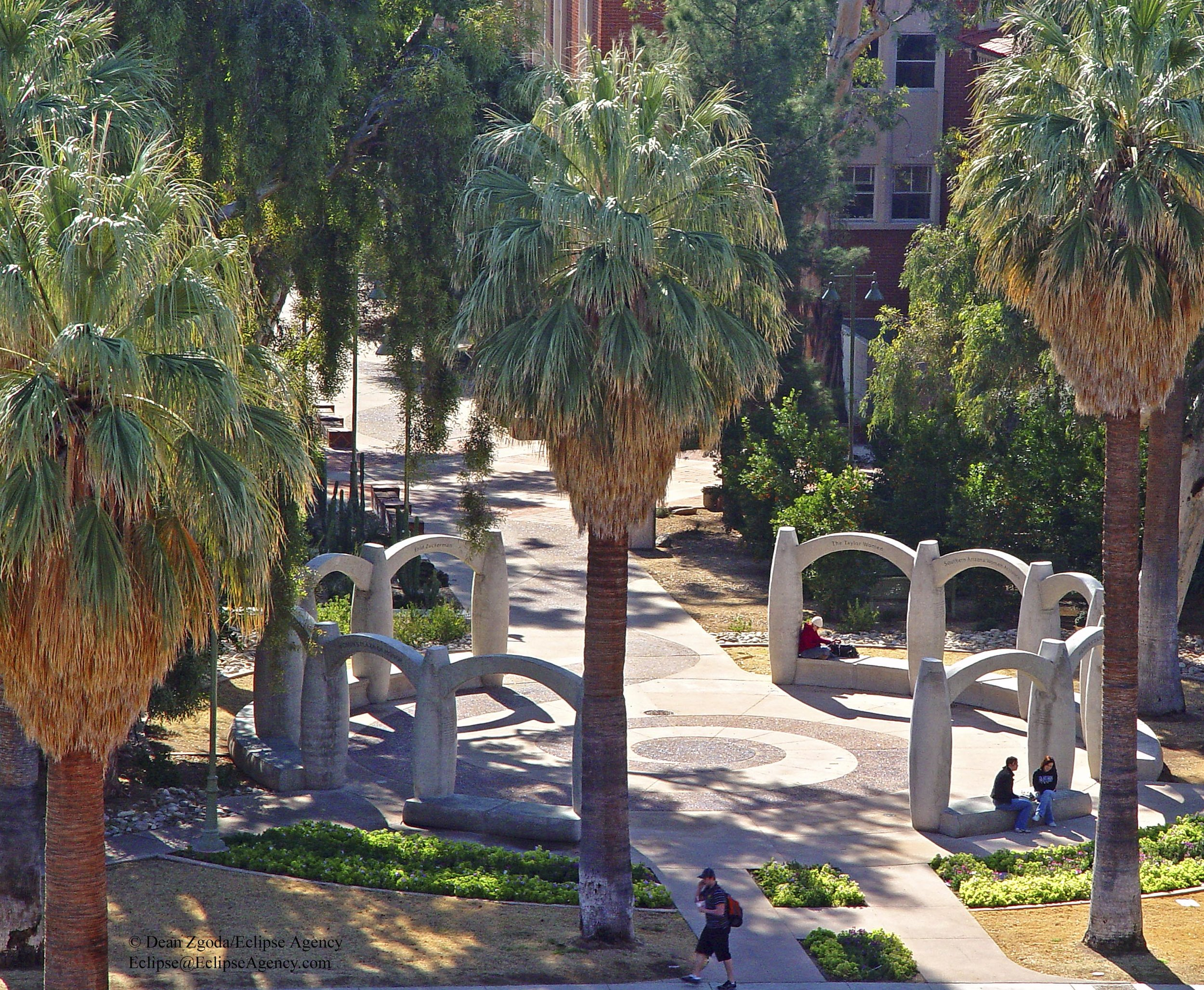 University of Arizona - Women's Plaza of Honor
