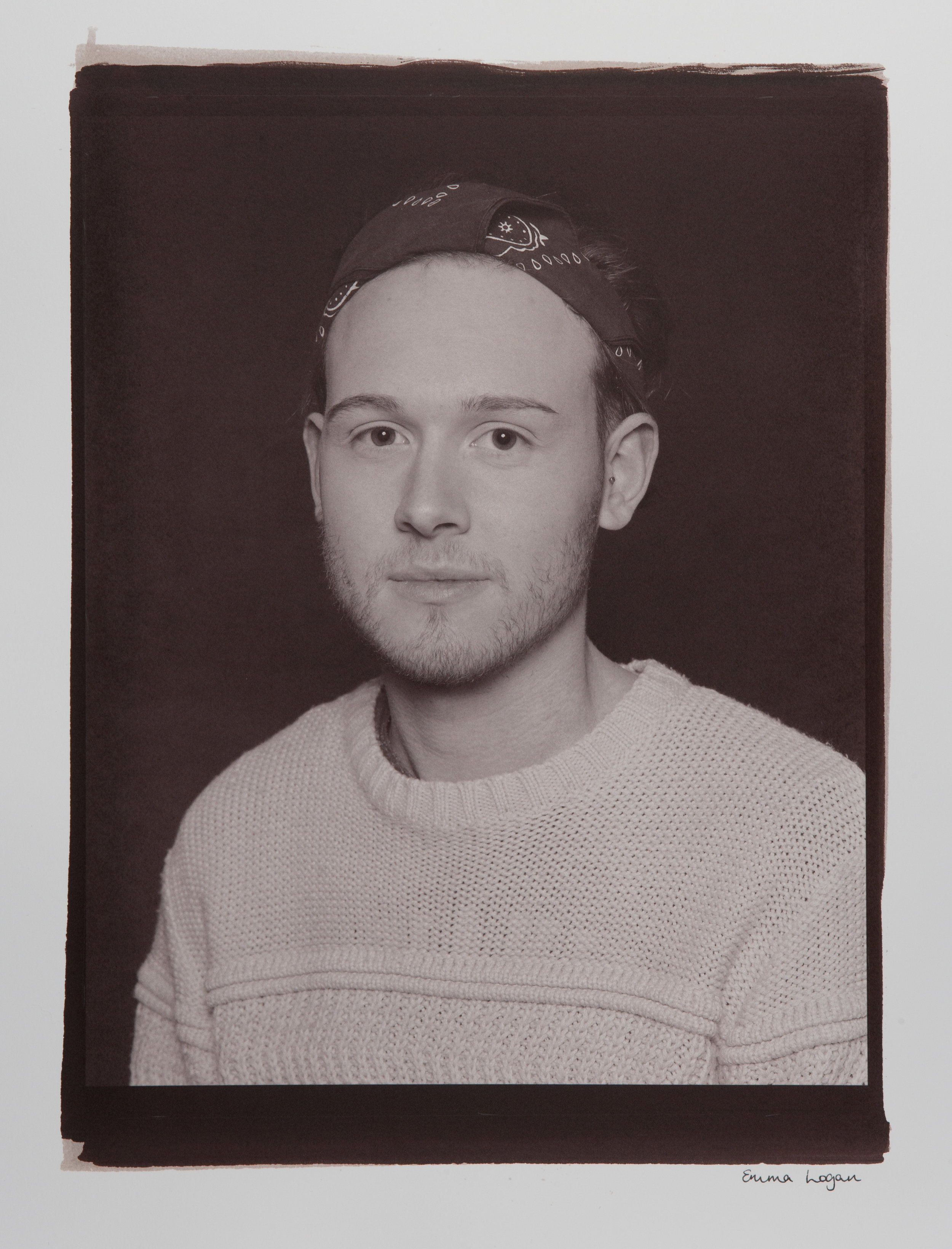 "Formal Portraits. Digital Negative Salt Prints. Original size - 16x20""."