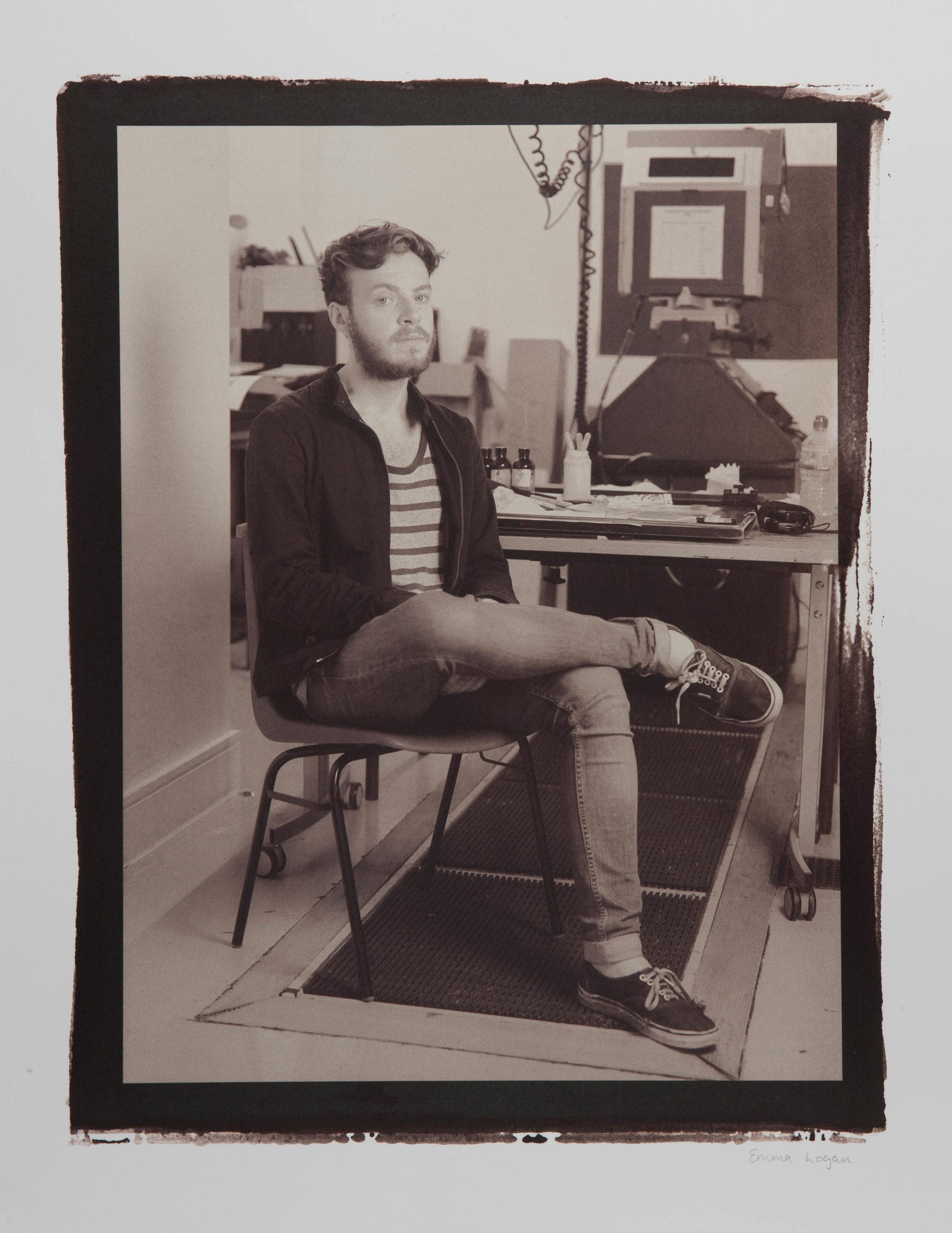 "Hand Made Crafts People. Alternative Photographic Processes.Digital Negative Salt Prints. Original size - 16x20""."