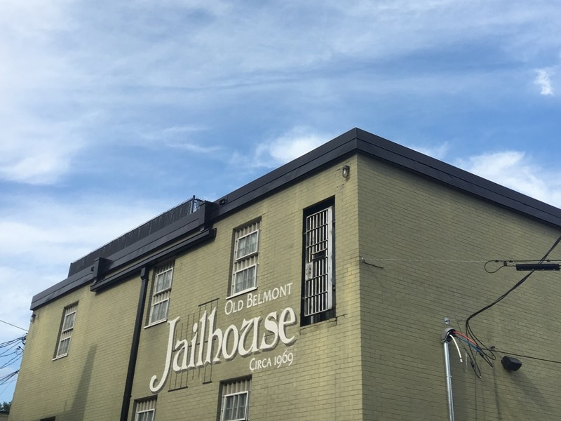 The Jailhouse Belmont - Upfit of 70 year old jail facility to a cigar bar.