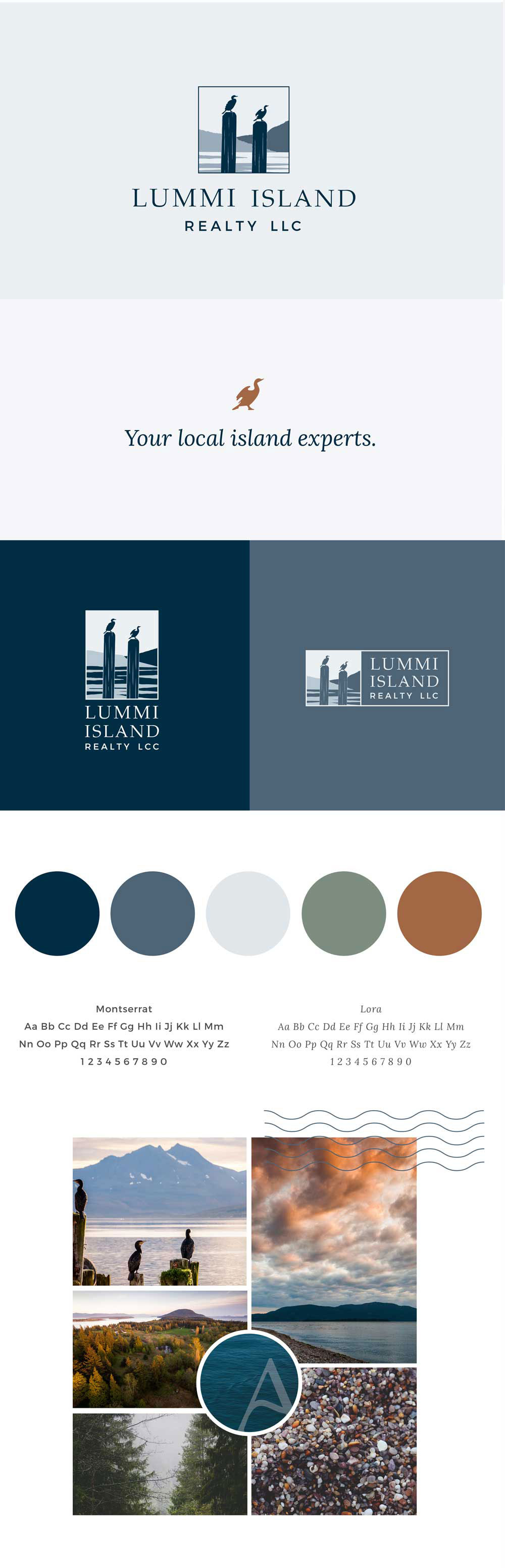 Lummi Island Realty Brand Identity By The Look & The Feel