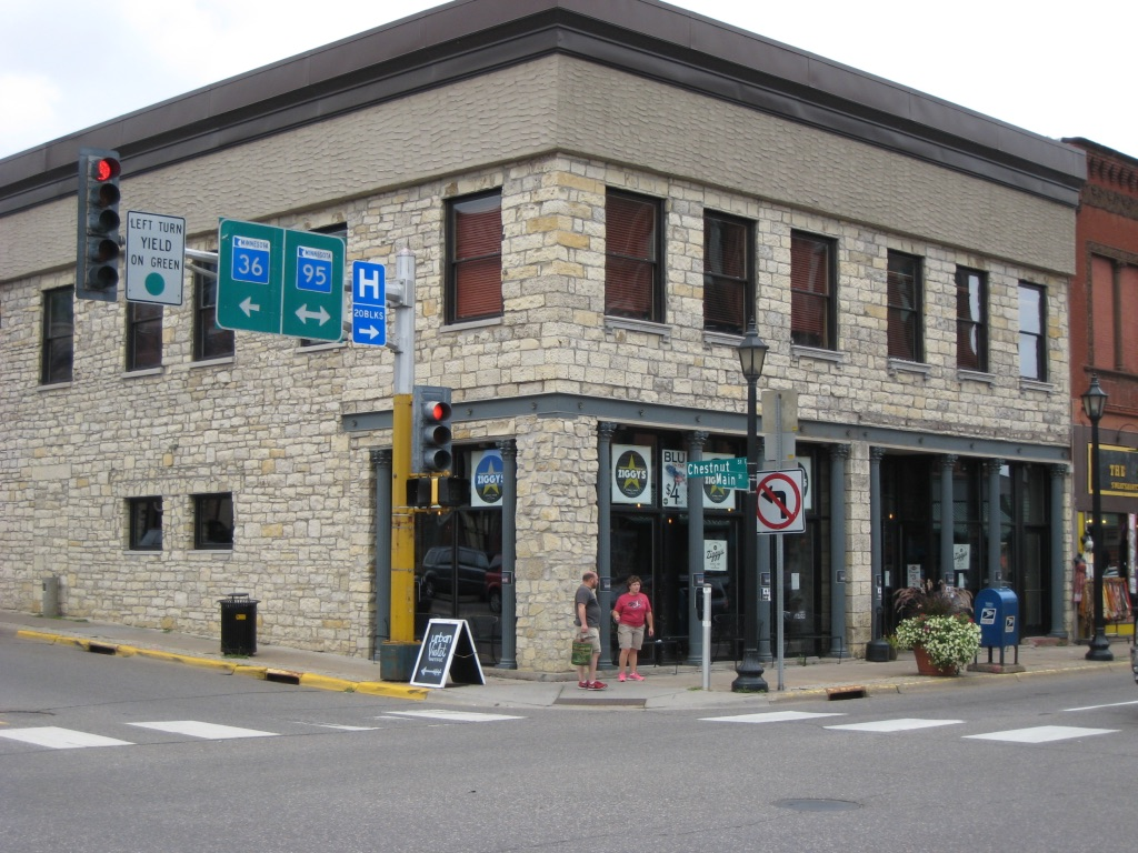 NW corner of Chestnut & Main Street 2016. Photo credit, Mr. Tom Wieland.