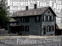 """Click or Tap on the photo above to go to the APP for """"Tour B"""". This tour includes The Brunswick House, The Old Post Office, The Freight House and other sites of importance. This is a more guided tour."""