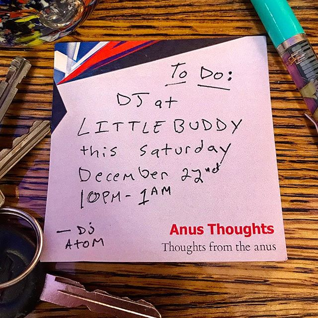 💫This Saturday, December 22nd, I'm dj'ing at @littlebuddyhideaway !! 💥