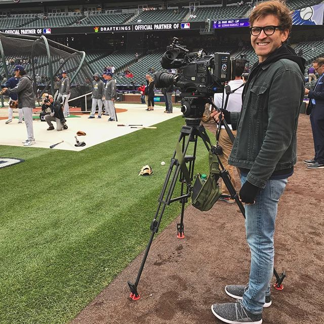 Shooting & exploring in Milwaukee & Denver for baseball playoffs! 🎥⚾️👖