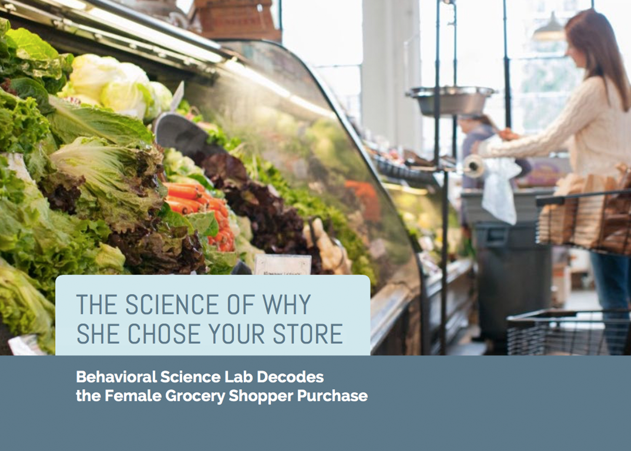 The Science Of Why She Chose Your Store -