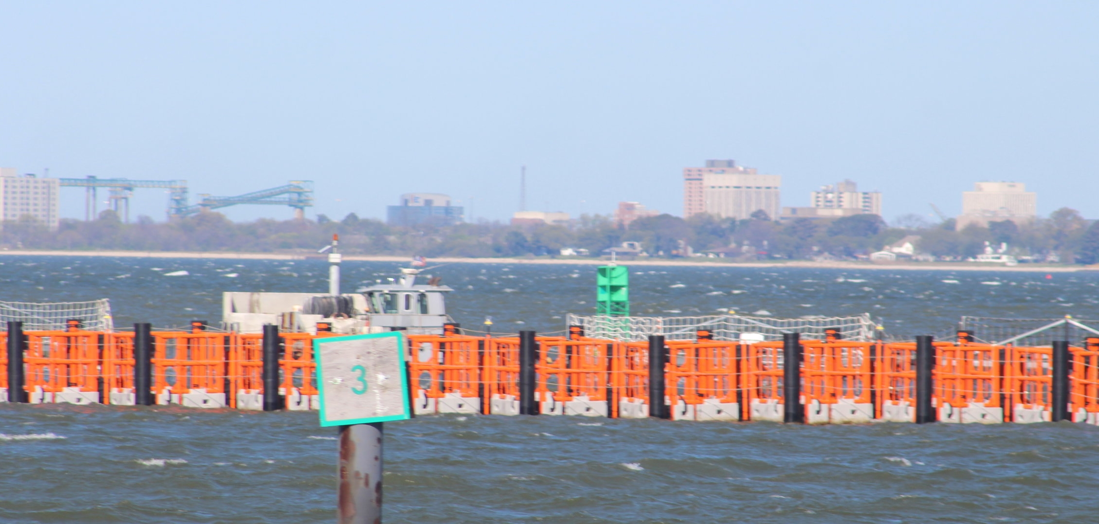 HALO GUARDIAN® system installed for US Navy Testing at Naval Station Norfolk, Virginia, USA. US Navy has awarded HALO Maritime Defense Systems a contract to install GUARDIAN® Automatic RDB's at Naval Station Norfolk.