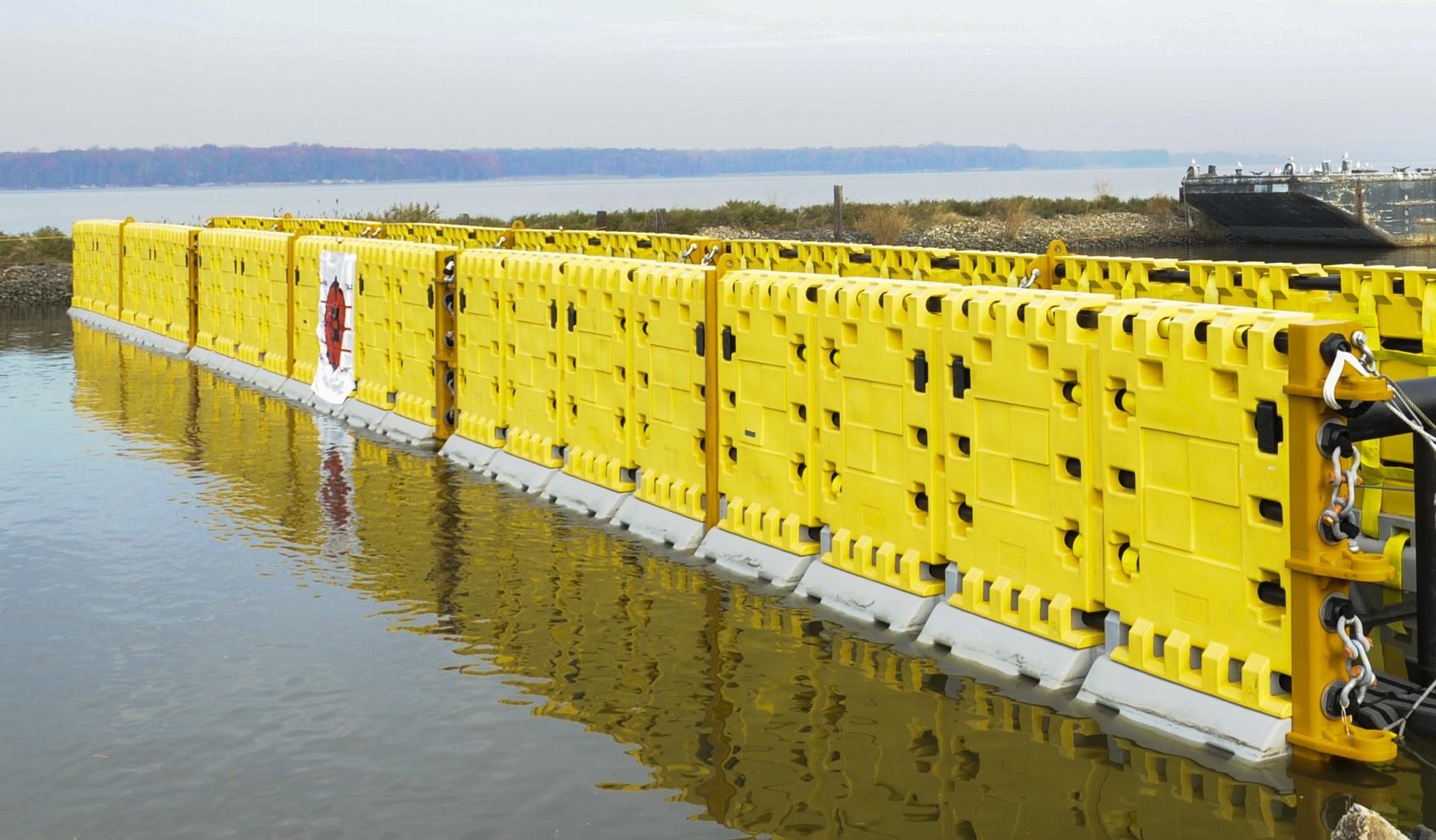 HALO SENTINEL® catamaran style structure maximizes stopping ability by providing redundant impact nets.