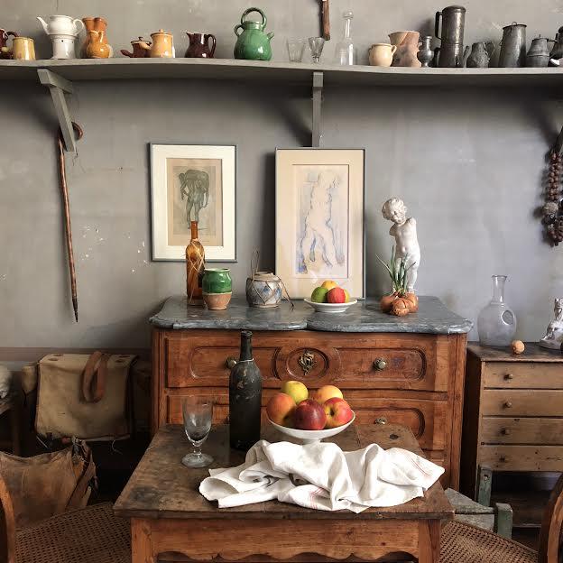 Inside Cezanne's studio