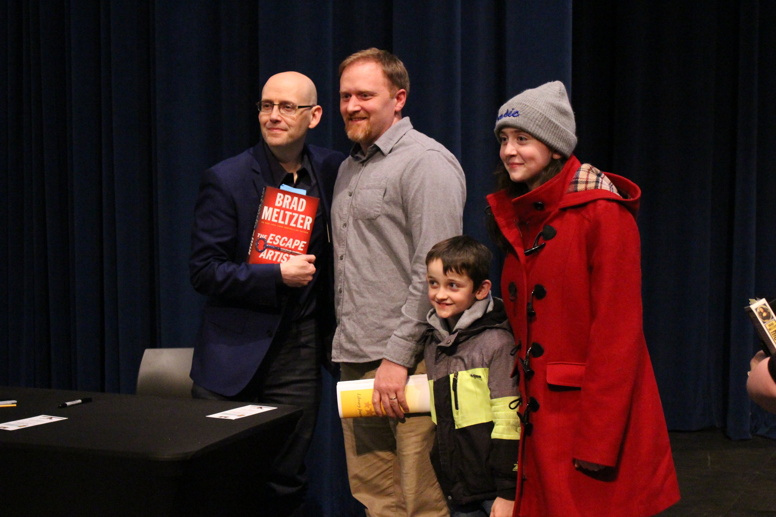 Brad Meltzer poses for a photo.