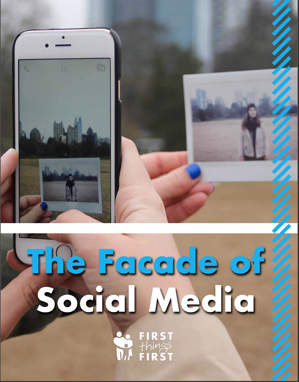 The Facade of Social Media - Download this interactive PDF for practical social media management tips and resources about technology and the brain.