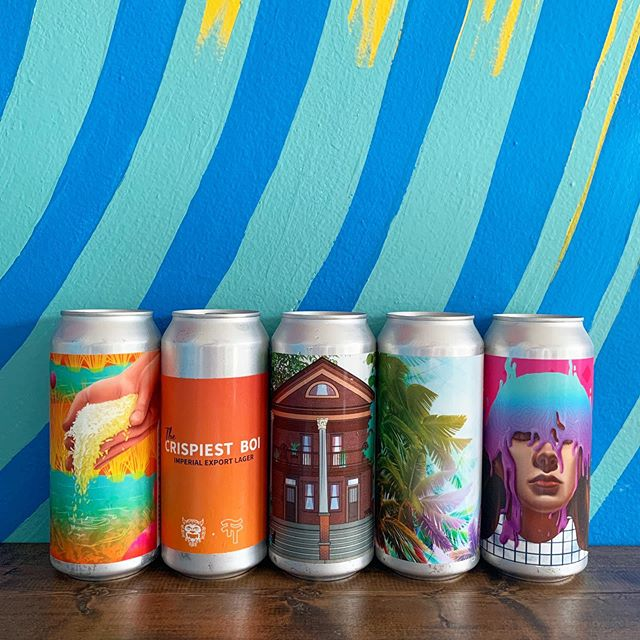 Cans on cans. Our newest release, Are You Feeling It Yet? is available now as well as 4 other canned options and bottles of Pool Snacks to go.