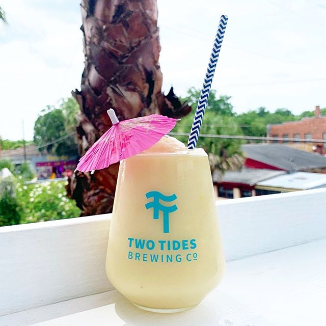 It's a hot one today! Come cool down with Frozen Soursop Colada and Advanced Timeshare Sales Techniques, our new Double Dry-Hopped IPA starting at noon. Krazian will be joining us from 12pm-4pm and Chazito's from 6pm-9pm.