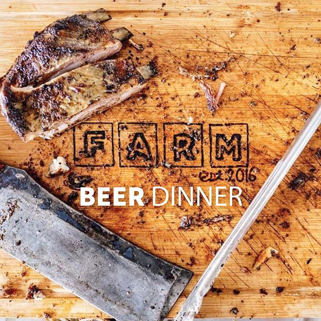 Ticket sales for our beer dinner with Farm Bluffton end TOMORROW at 3pm! You will not be able to purchase tickets at the door for this event. Head to TwoTidesBrewing.com to take a look at the menu and purchase tickets (link in bio).