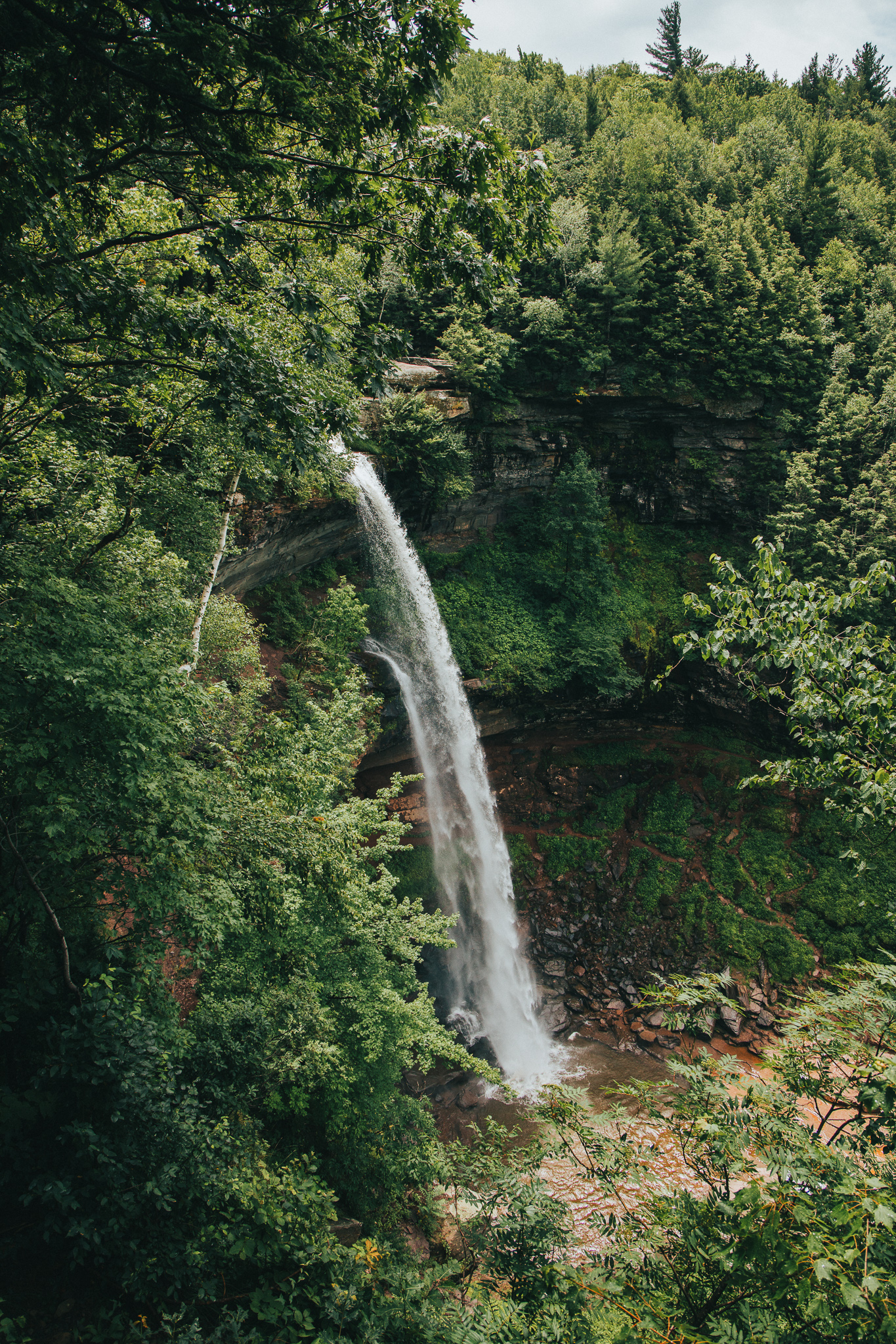 Kaaterskill Falls, NY. -