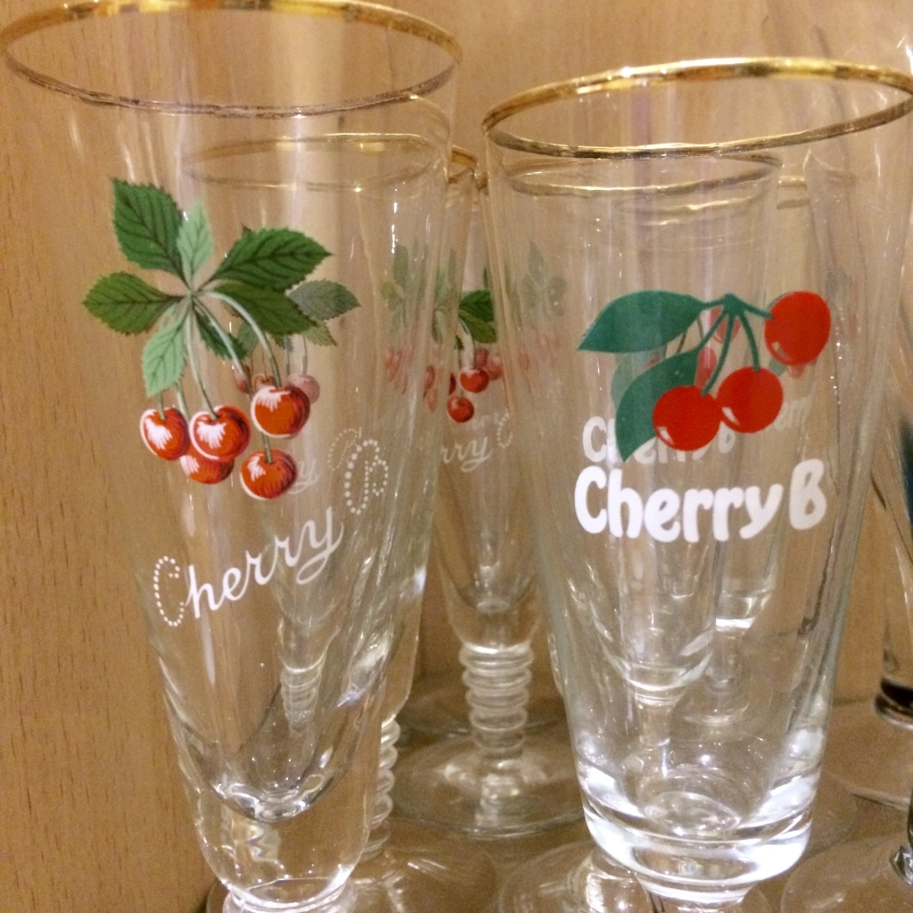 Cherry B glasses