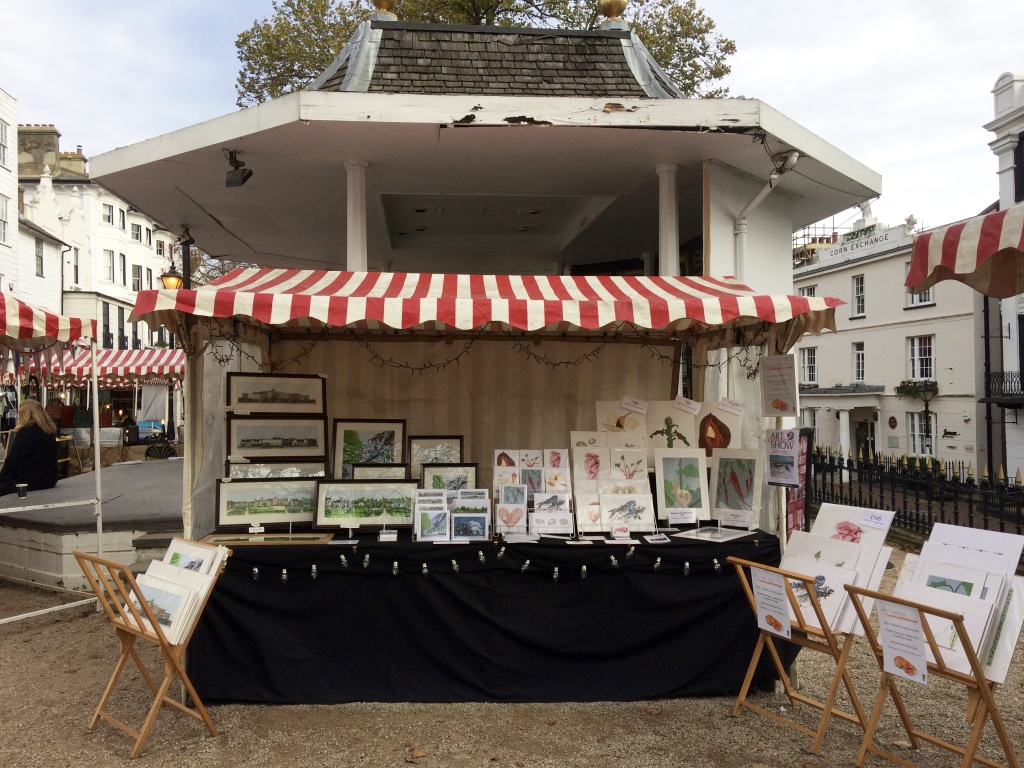 The Pantiles Market - Artists, Elaine Gill & Lucy Clayton