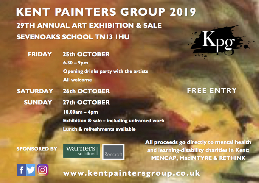 All welcome to join the Meet the Artist Event on Friday 25th October 6;30 to 9pm