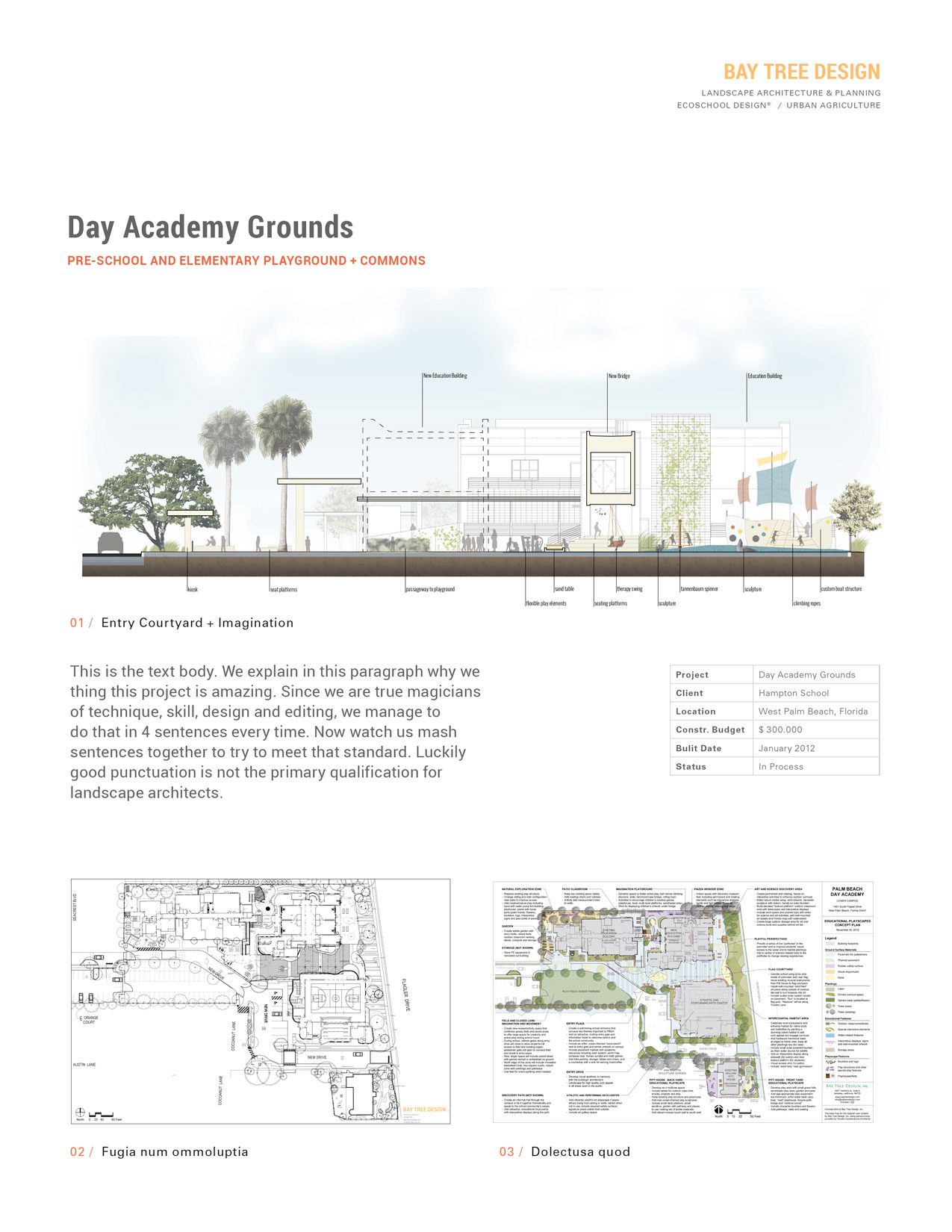 Bay Tree Design Project Page