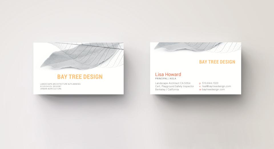 Bay Tree Design Business Card
