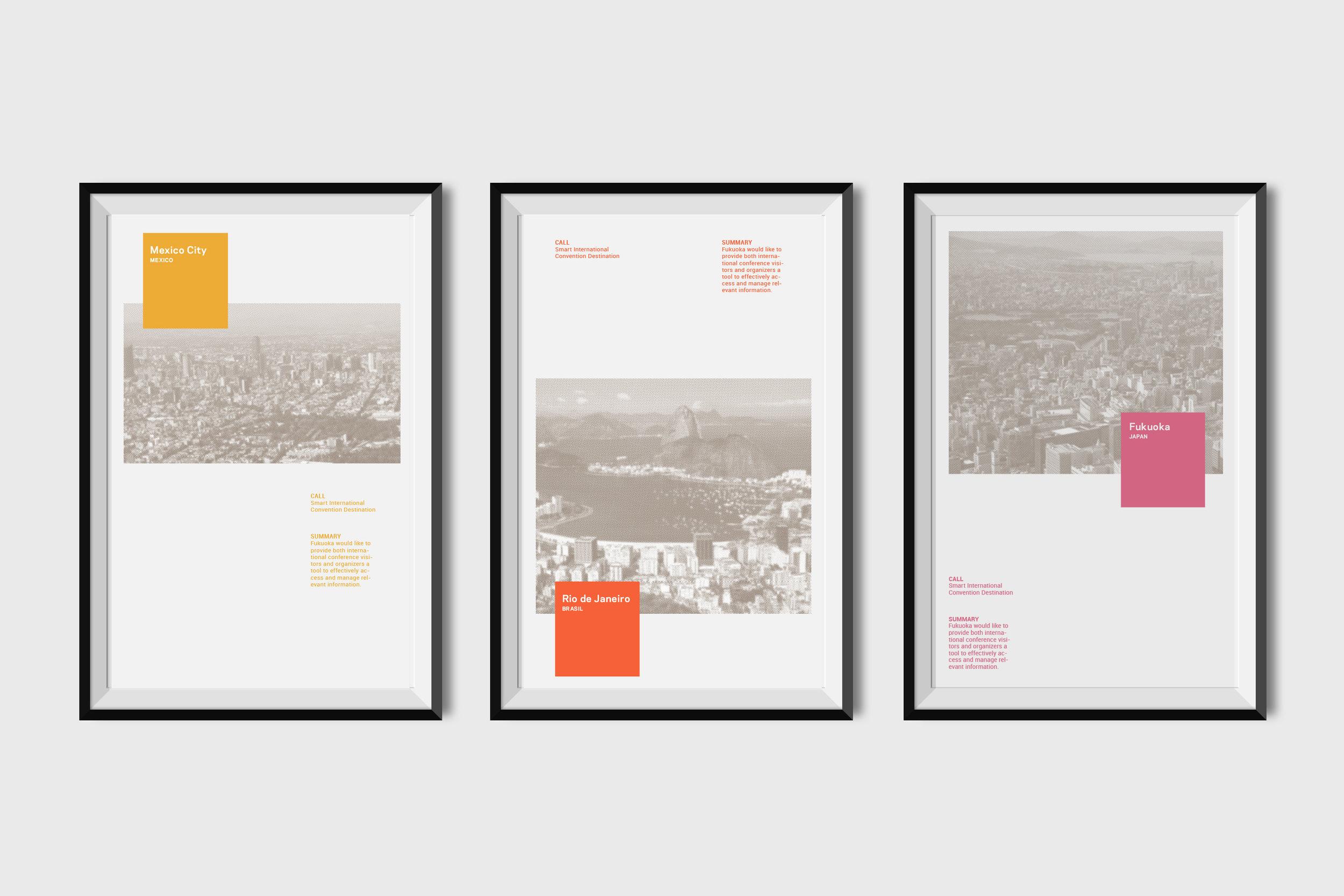 LLGA City Posters