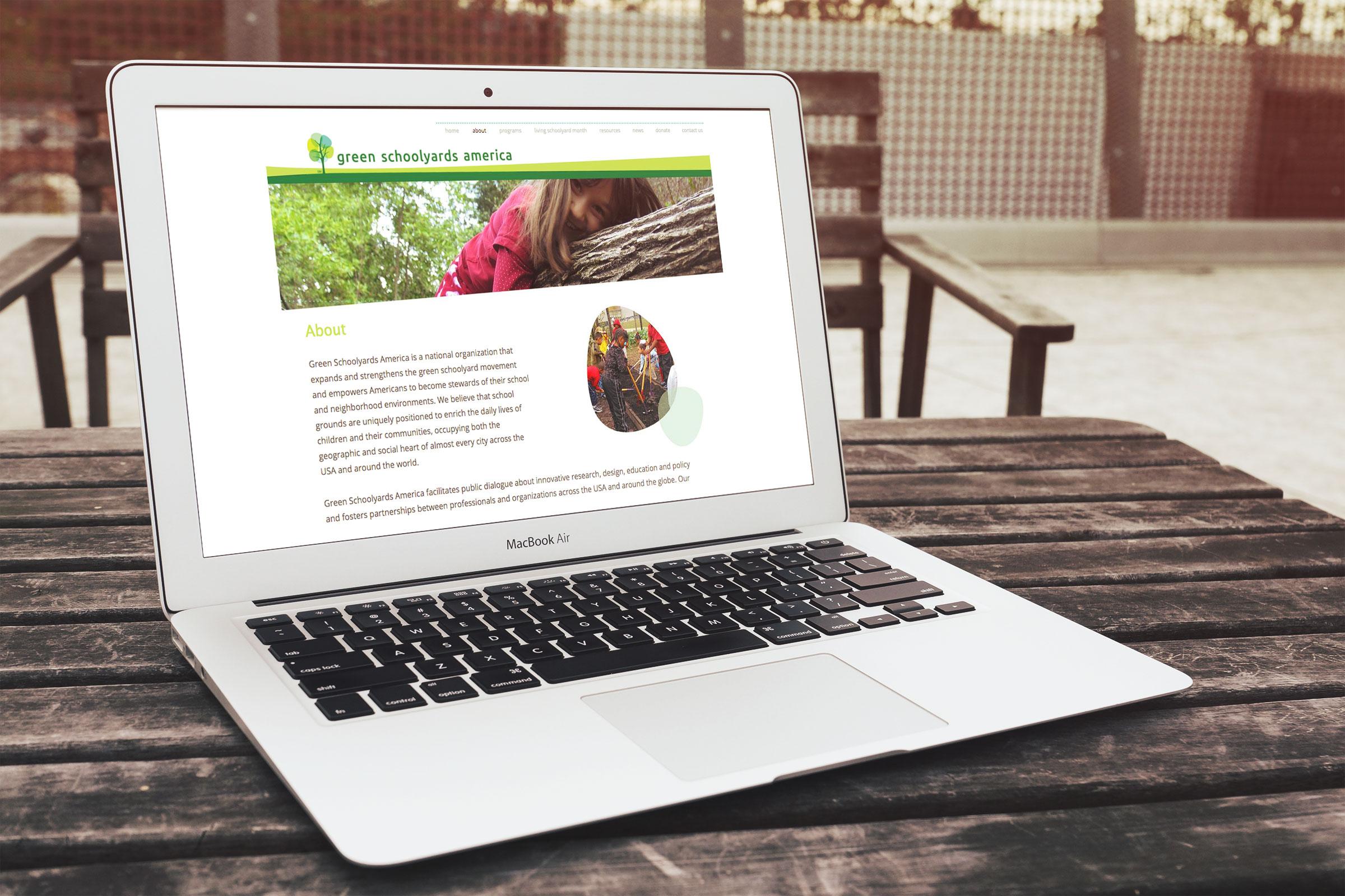 Green Schoolyards America Website