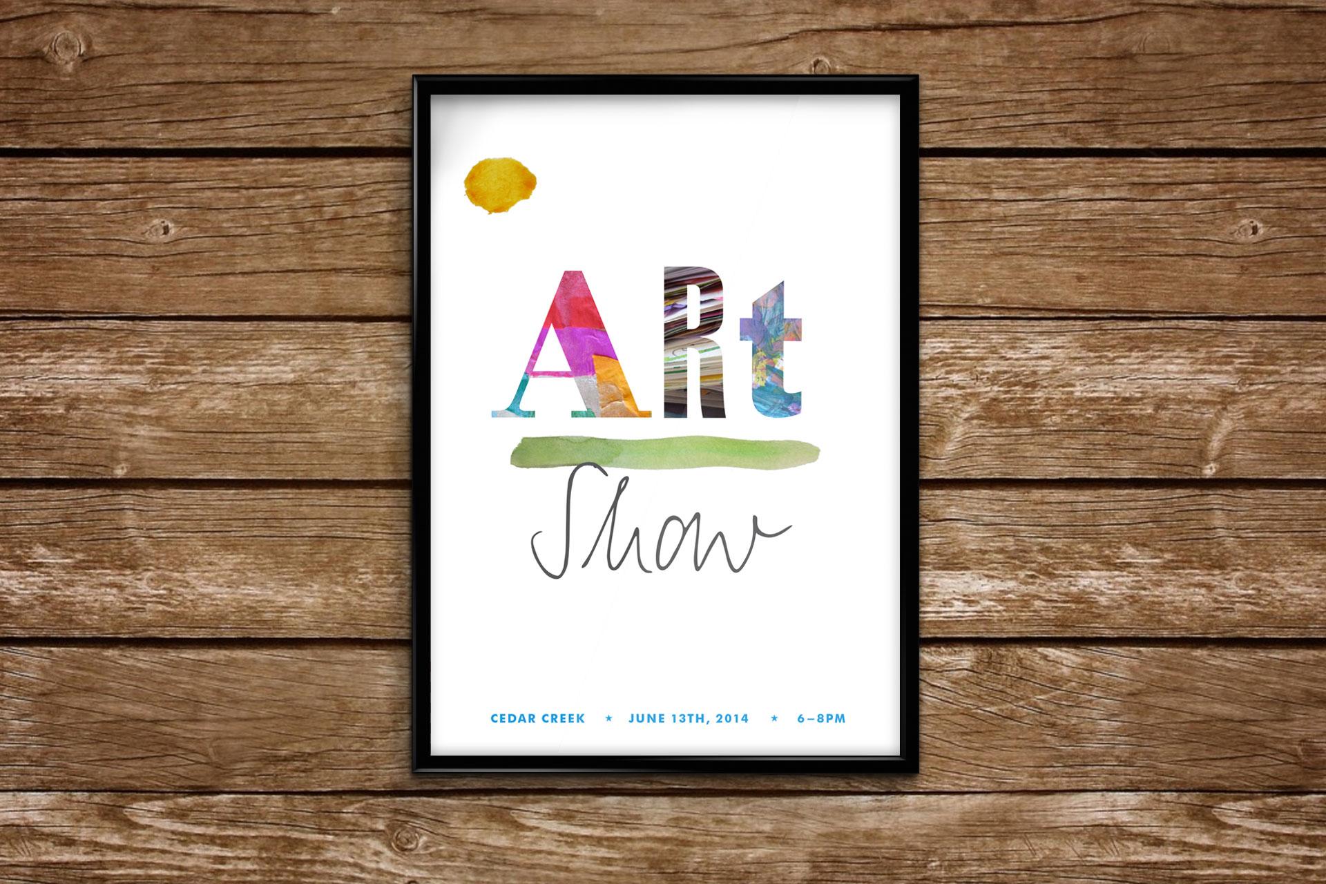 Art Show Invitation