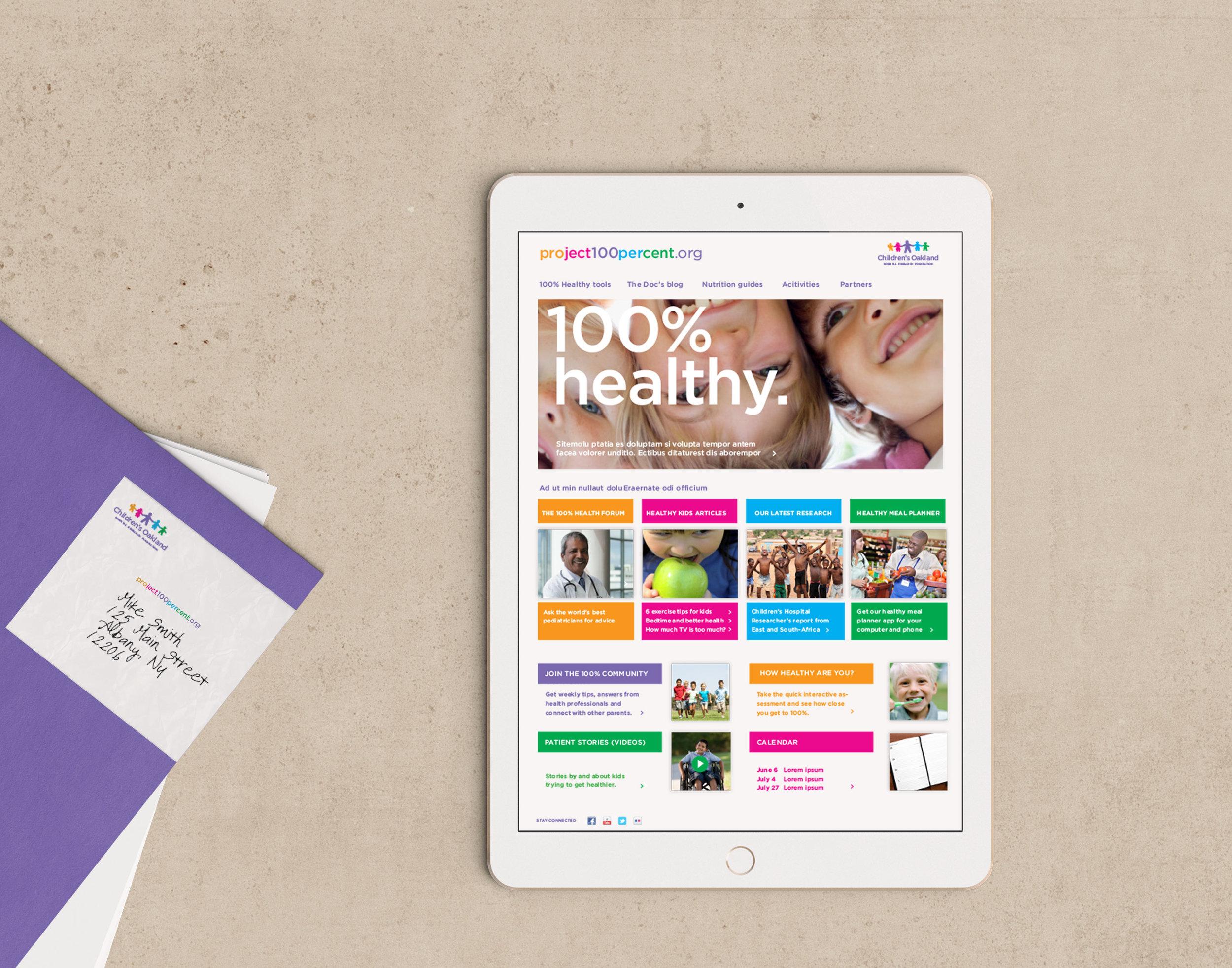 Children's Hospital Campaign Website