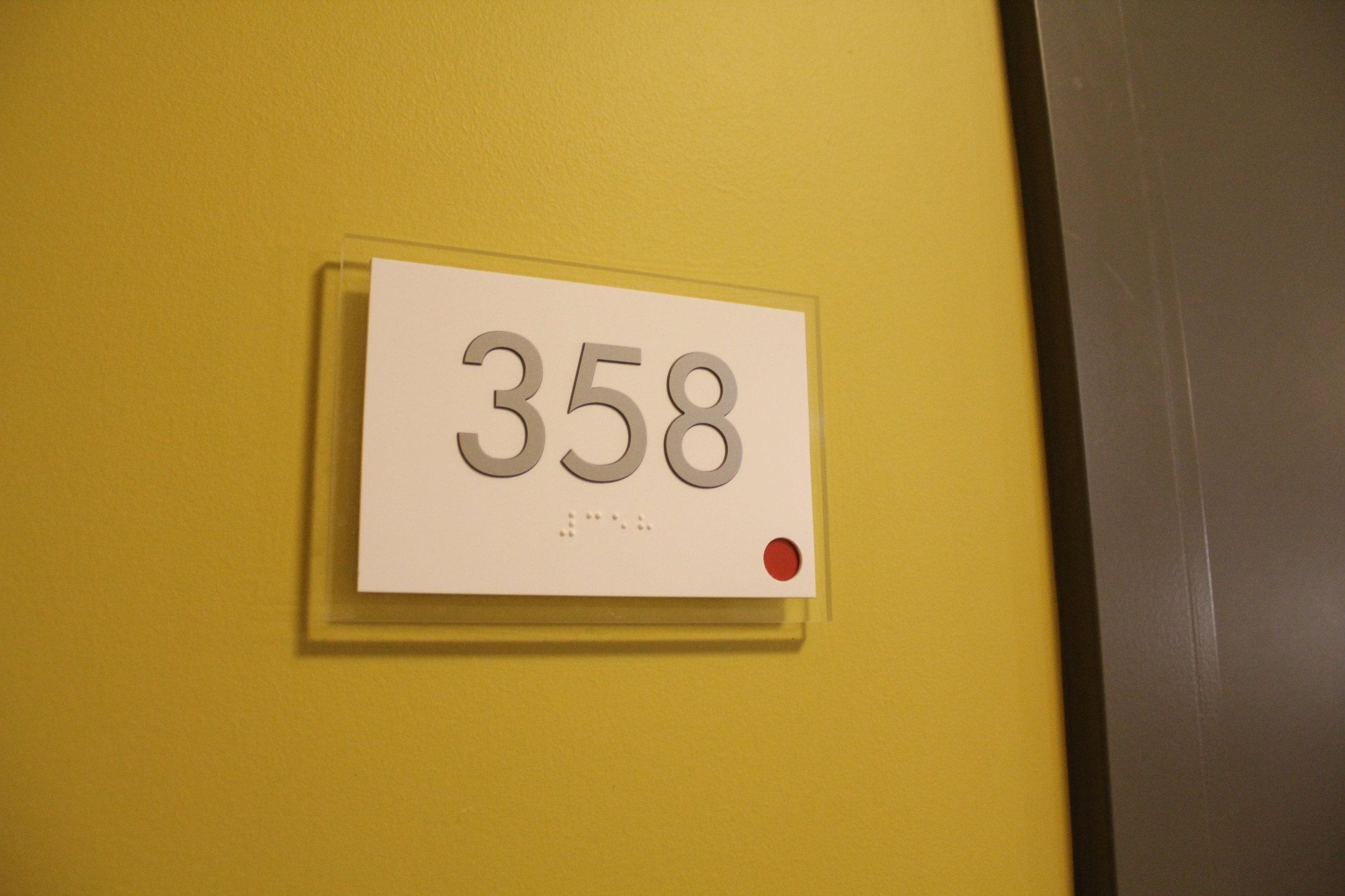 Unit Signage|Sub Branding