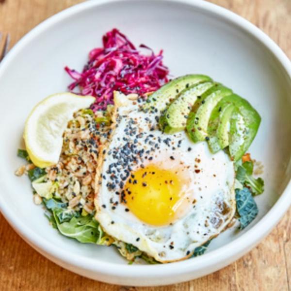 Sunny Side Breakfast Bowl