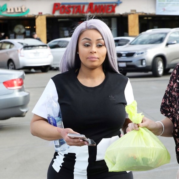 Blacc Chyna opting for the Health Nut takeout