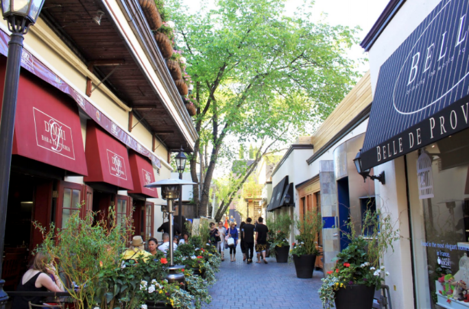 Yorkville - Take advantage of all the museums that you get to walk to as well as the Toronto Public Library. With high-end stores in the area, great for posh young professionals who want the luxurious lifestyle!