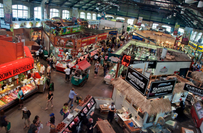 St Lawrence  - Imagine instant access to the St Lawrence market. Get the fresh fish and veggies! Also imagine living in the area. And to state the obvious — Location!