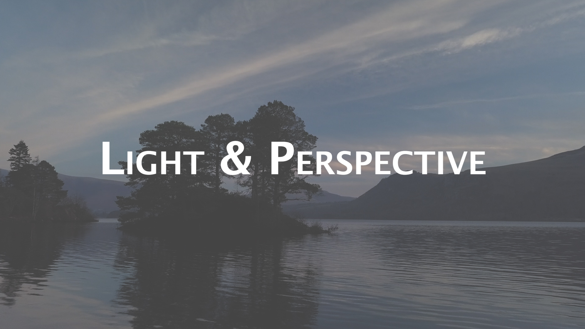 Light and Perspective