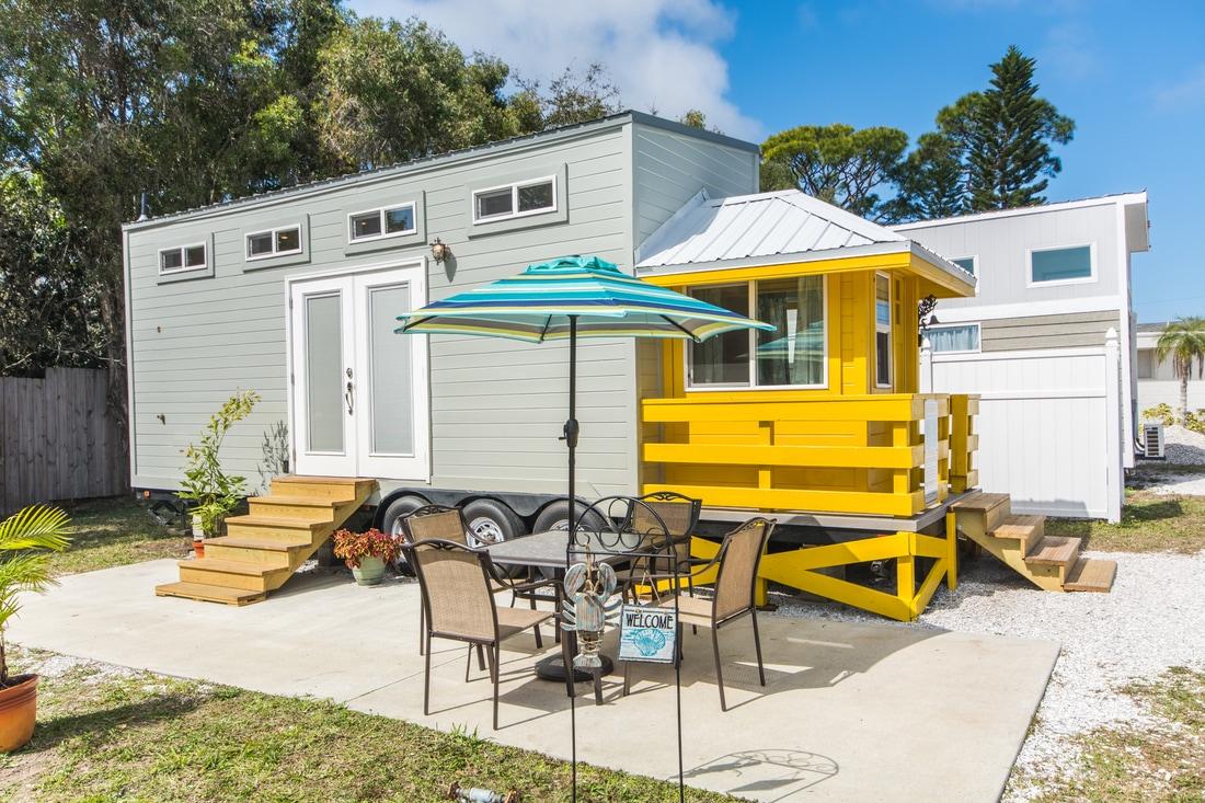Siesta Beach Tiny Home Rental Lifeguard