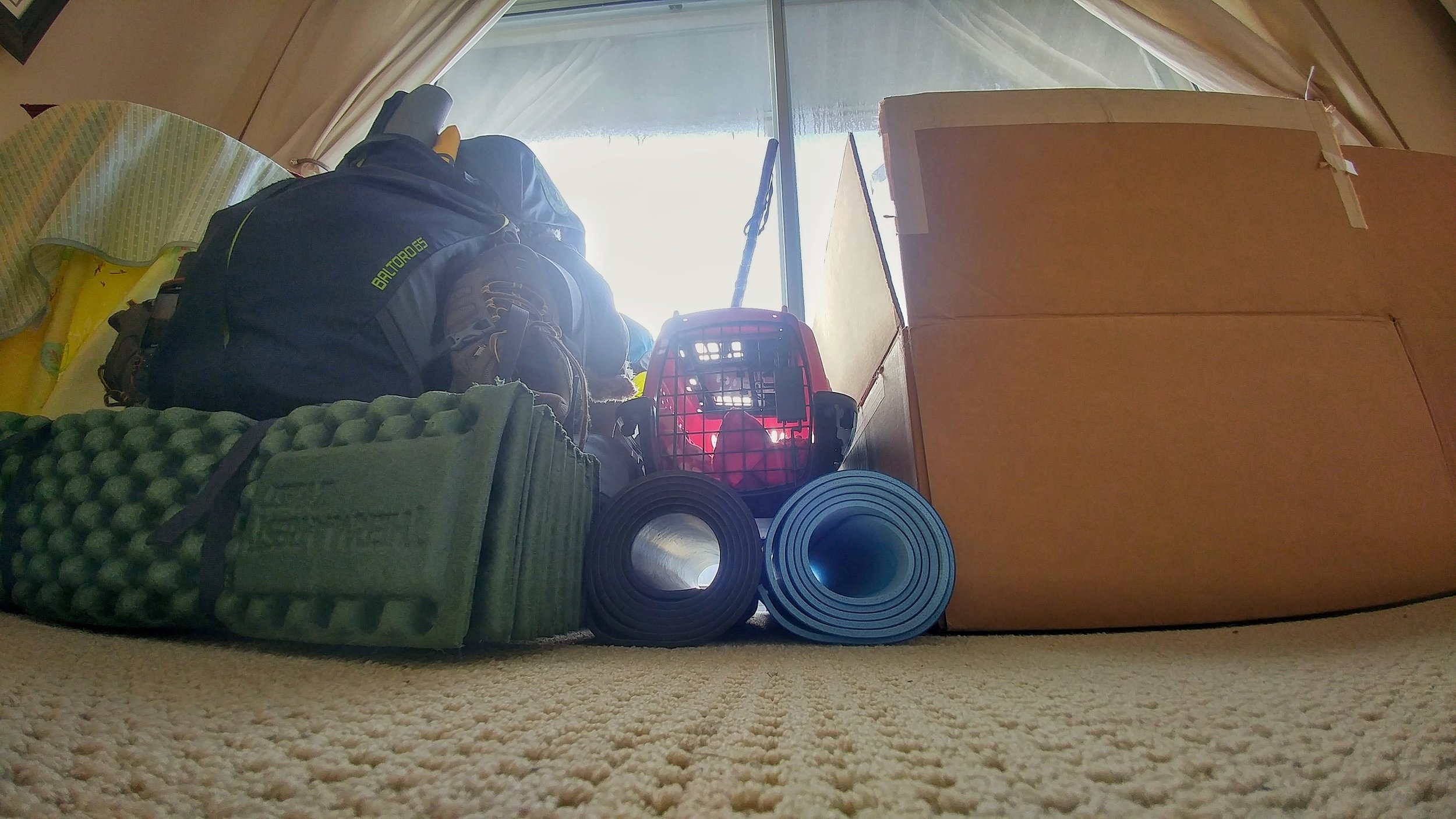 Moving into a tiny home and how we packed