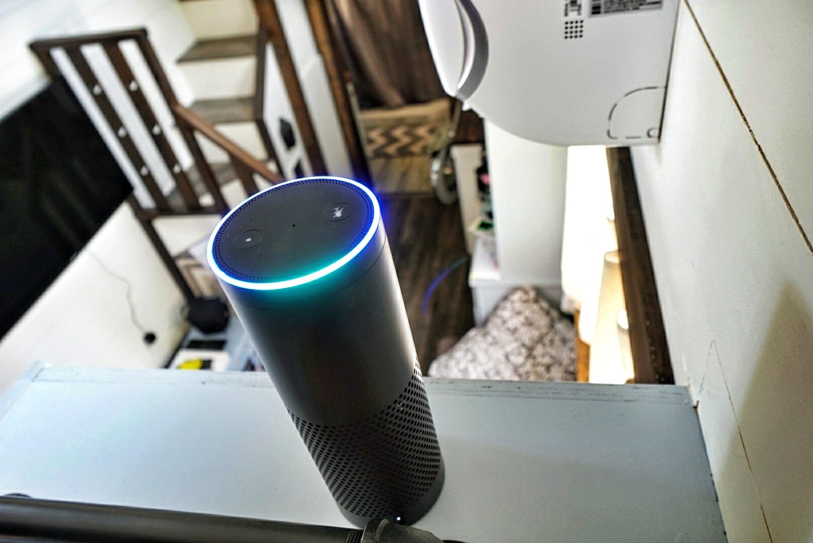 Smarthome Tiny Home Amazon Alexa echo