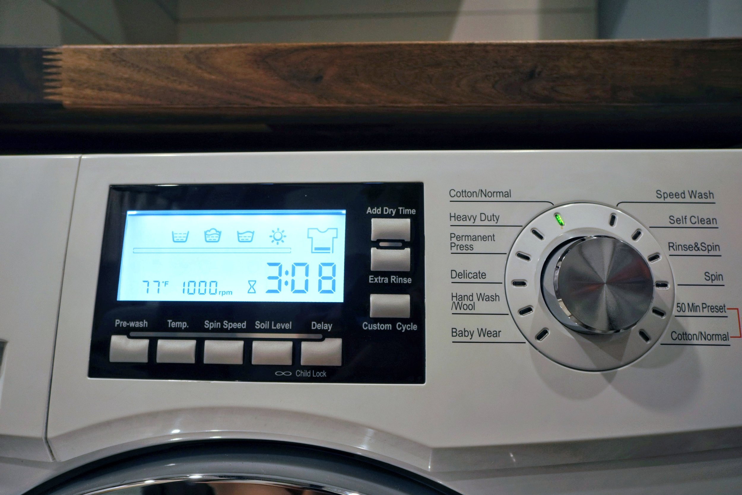 Washer Drier Combo unit tiny house laundry review wash cycles