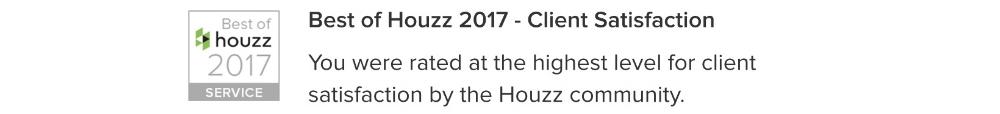 Houszz 2017 Award