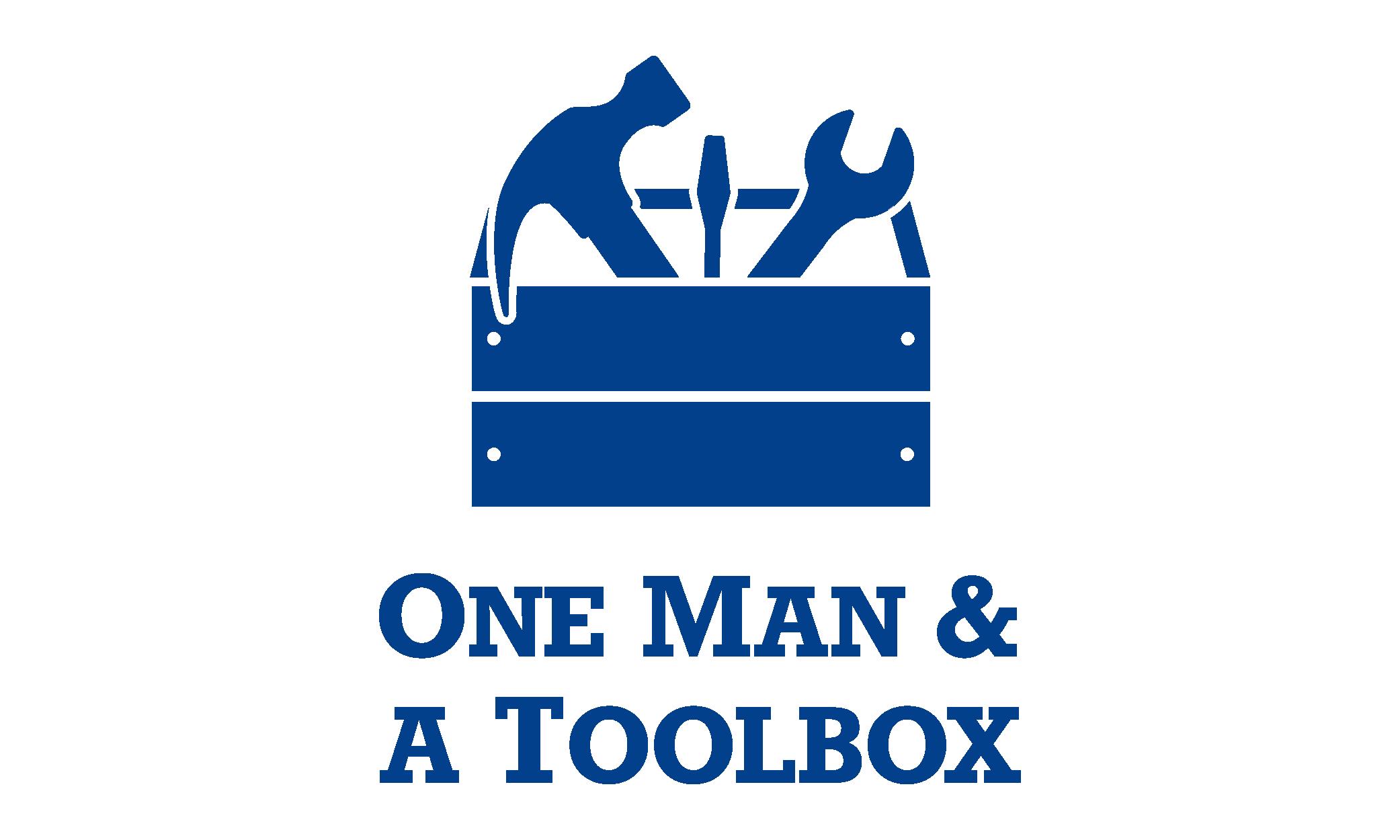 One Man and A Toolbox Logo Emily VanderMey