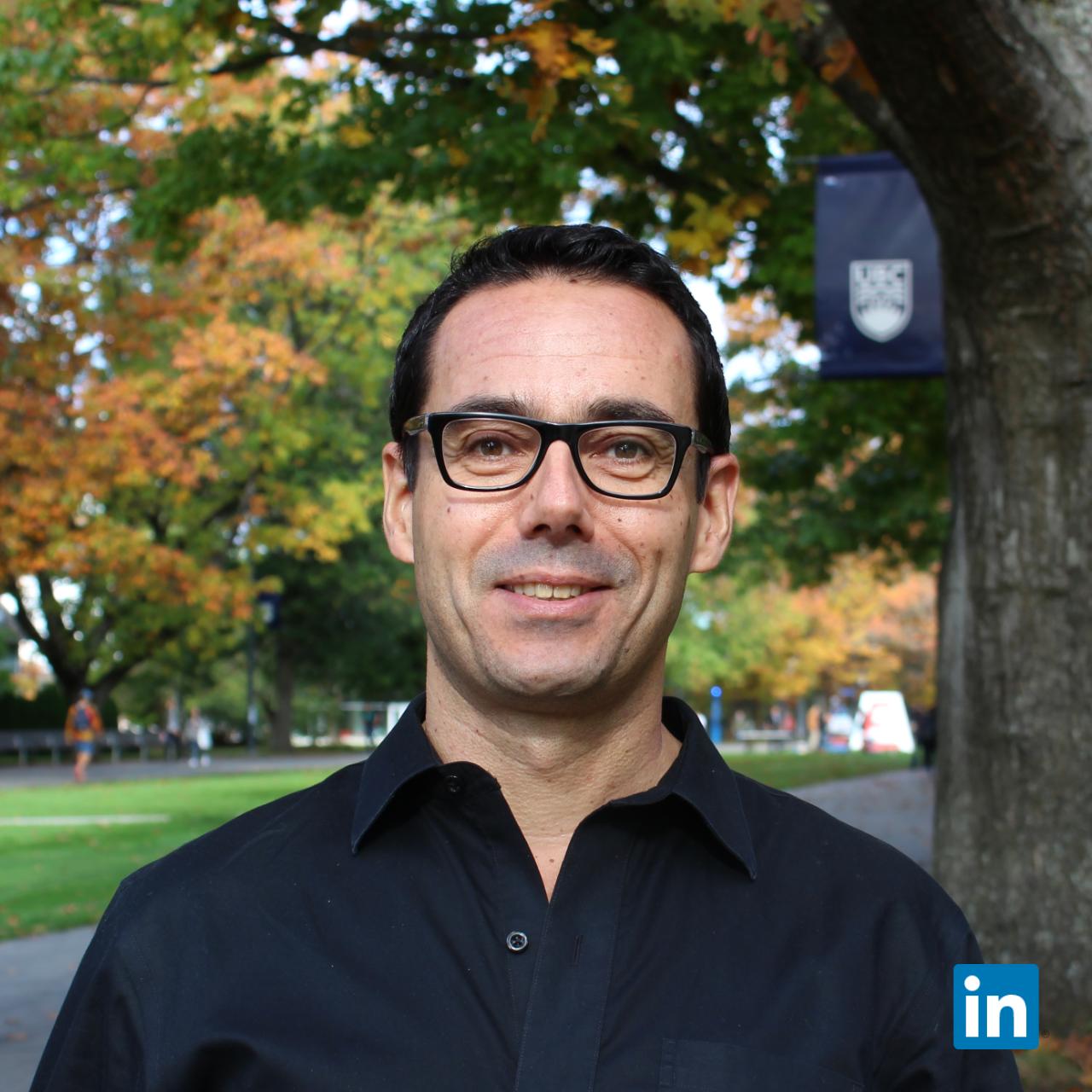 Dr Boris Stoeber (PhD)  Chief Technology Officer