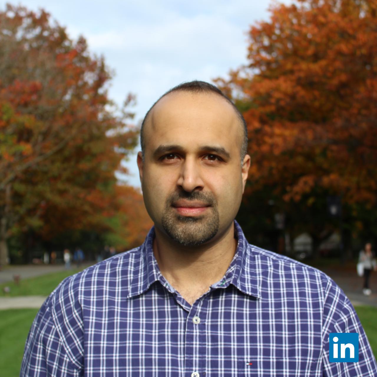Dr Iman Mansoor (PhD)  Co-founder, VP of Engineering