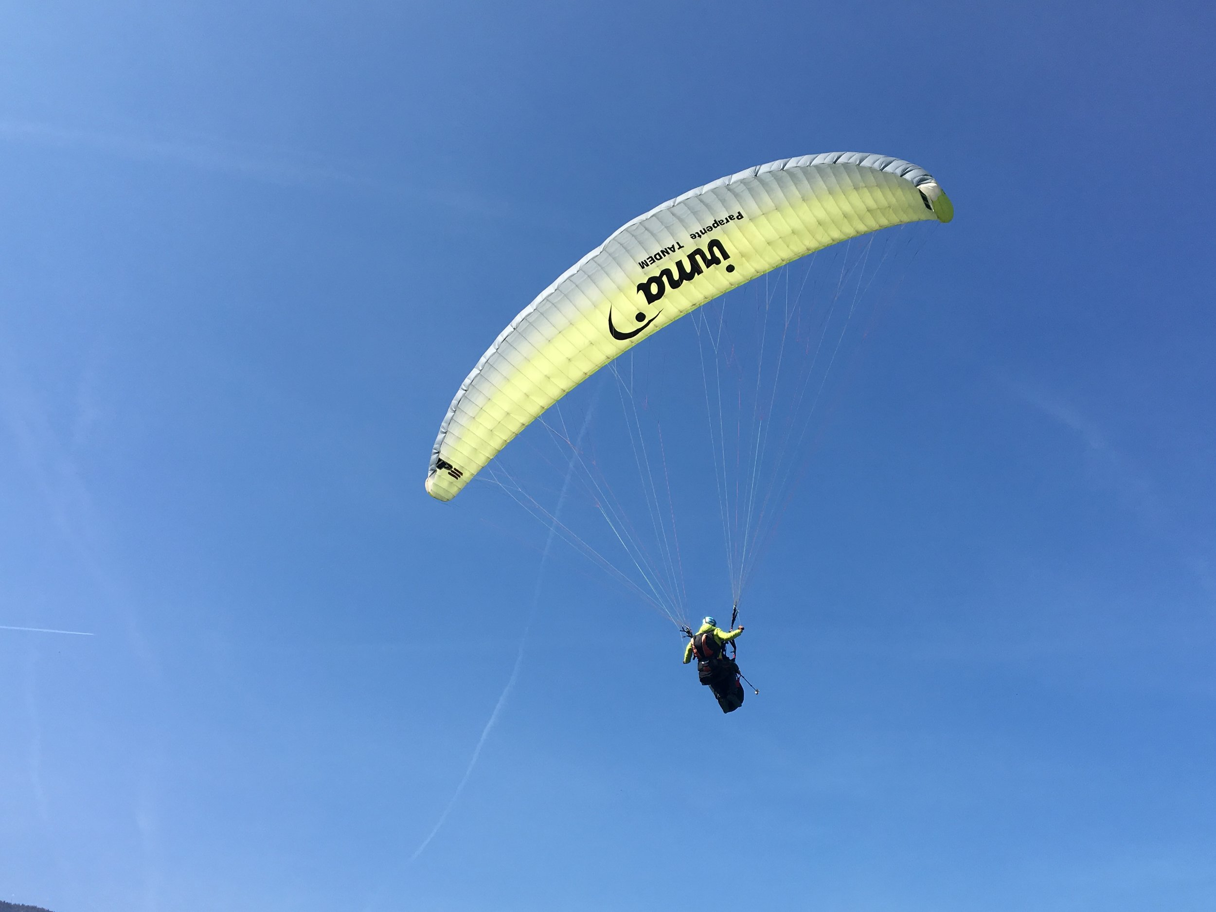 Landing at the Paraport
