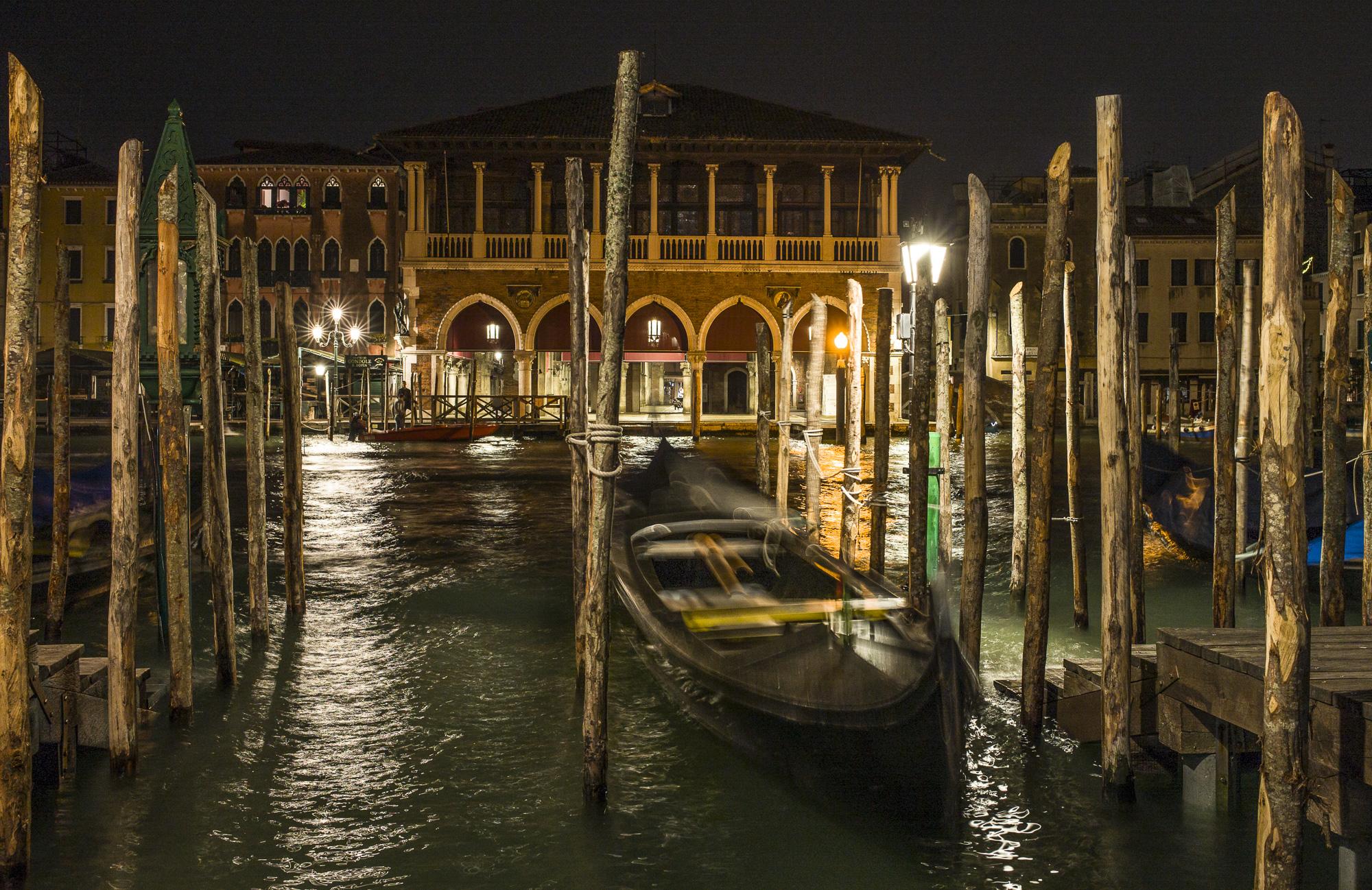 Gondola at Night